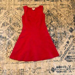 LOFT Red Dress